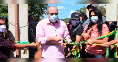Sucupira do Norte: deputado Hildo Rocha e prefeita Leila Rezende inauguram sistema de abastecimento de água
