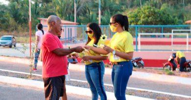 Secretaria de saúde de amarante realiza ação da campanha preventiva do combate ao suicídio