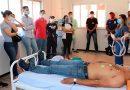 Amarante – Servidores que atuam no Hospital de Campanha recebem treinamento especializado sobre Covid-19