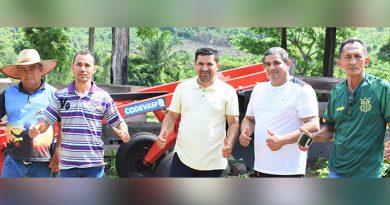 Patrulha mecanizada viabilizada pelo deputado Hildo Rocha melhora as condições de trabalho de agricultores de Bom Jesus das Selvas
