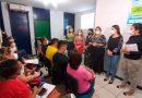 Equipe de vacinação volante da Covid-19 participa de capacitação