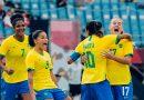 Seleção feminina goleia China na estreia do Brasil na Olimpíada