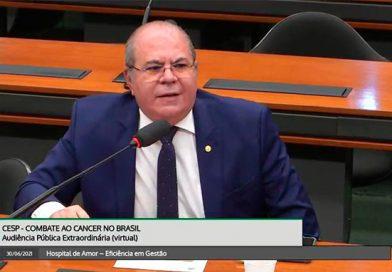 Hildo Rocha defende implantação de Hospital de Combate ao Câncer no Baixo Parnaíba